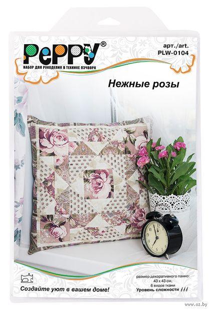 """Набор для лоскутного шитья """"Нежные розы"""" — фото, картинка"""