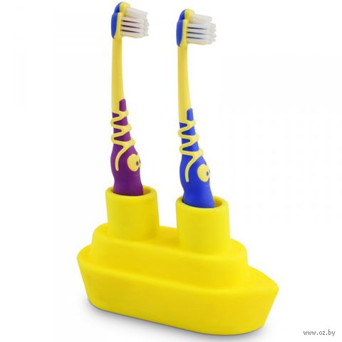"""Держатель для зубной щетки """"Boat"""" (желтый)"""