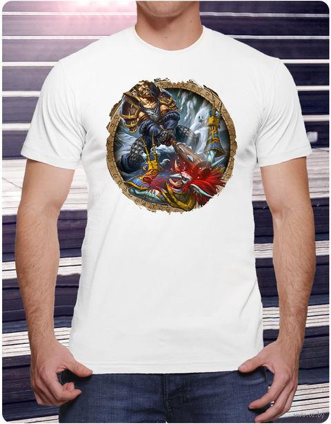 """Футболка мужская """"Варкрафт"""" (размер 52; арт. 4) — фото, картинка"""