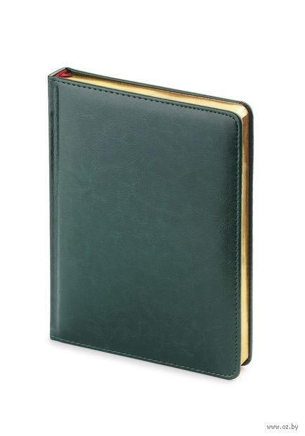 """Ежедневник недатированный """"Sidney Nebraska"""" (A6; зеленый) — фото, картинка"""