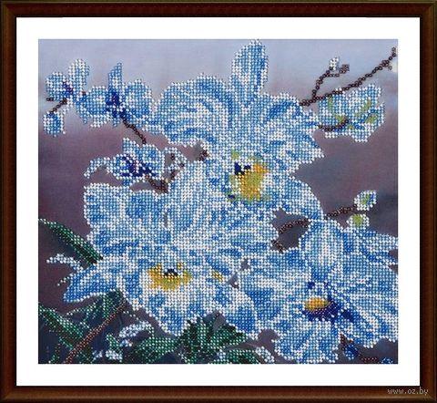 "Вышивка бисером ""Белые орхидеи"" (230х250 мм) — фото, картинка"