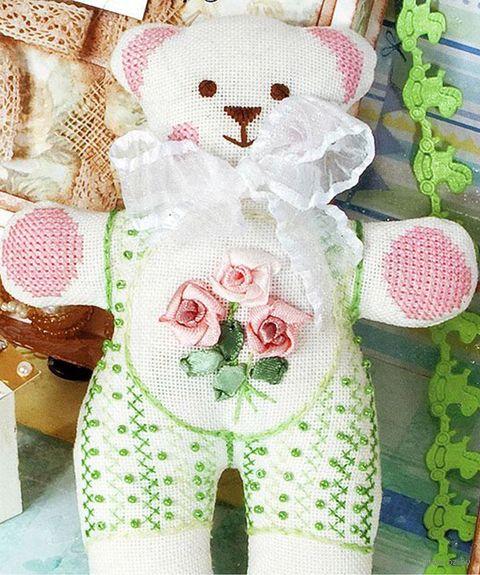 """Набор для вышивания """"Мягкая игрушка. Мишка"""" (120х160 мм) — фото, картинка"""
