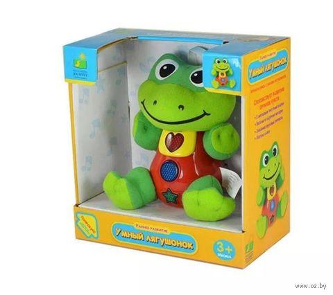 """Развивающая игрушка """"Умный лягушонок"""" (со световыми эффектами) — фото, картинка"""