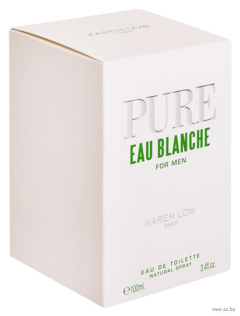 "Туалетная вода для мужчин ""Pure Eau Blanche"" (100 мл)"