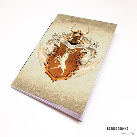"""Блокнот """"Игра престолов"""" (А7; арт. 447) — фото, картинка"""