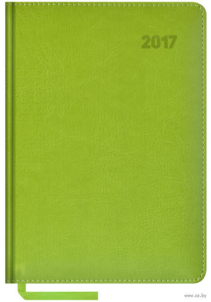 """Ежедневник датированный """"Sarif"""", 2017 (А5; 176 листов; салатовый)"""