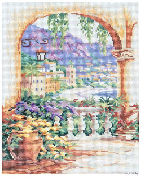 """Алмазная вышивка-мозаика """"Летний пейзаж"""""""