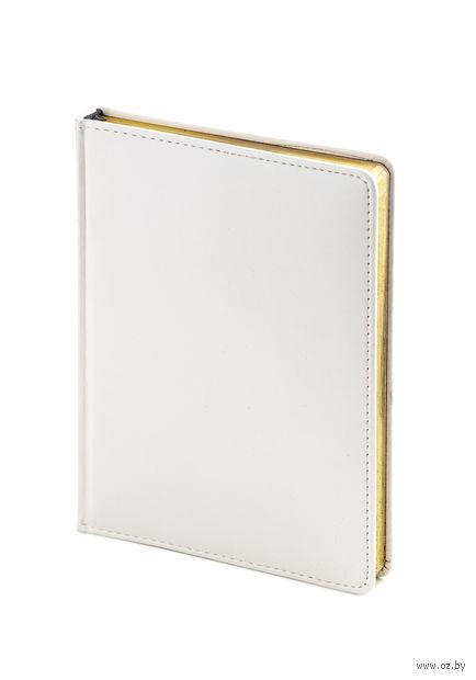 """Ежедневник недатированный """"Sidney Nebraska"""" (A6; белый) — фото, картинка"""