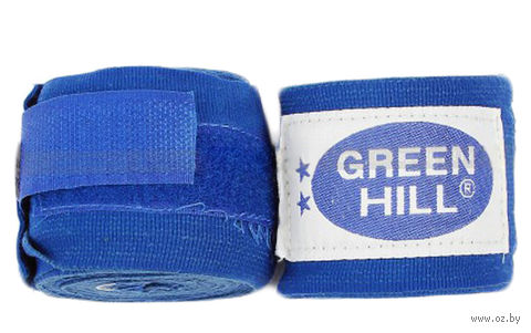 Бинт боксёрский BP-6232c (3,5 м; эластик; синий) — фото, картинка