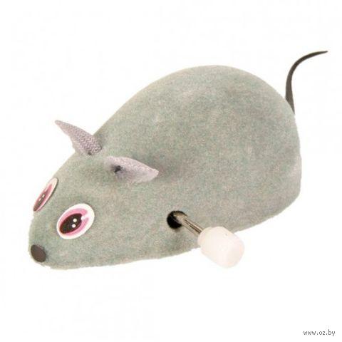 Игрушка для кошек в виде заводной мыши (7 см) — фото, картинка