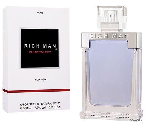 """Туалетная вода для мужчин """"Rich Man"""" (100 мл) — фото, картинка"""