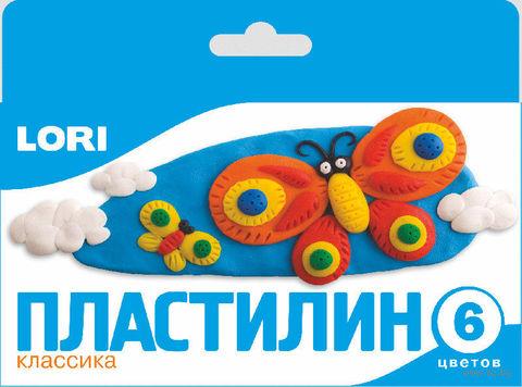 "Пластилин ""Классика"" (6 цветов)"