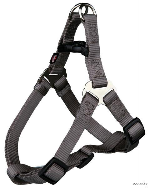 "Шлея для собак ""Premium Harness"" (размер L; 65-80 см; темно-серый)"
