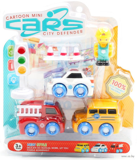 "Игровой набор ""Cartoon Mini Cars"""