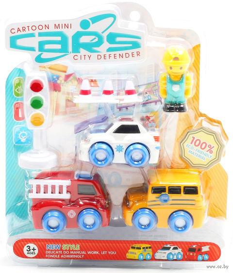 """Набор машинок """"Cartoon Mini Cars"""" — фото, картинка"""