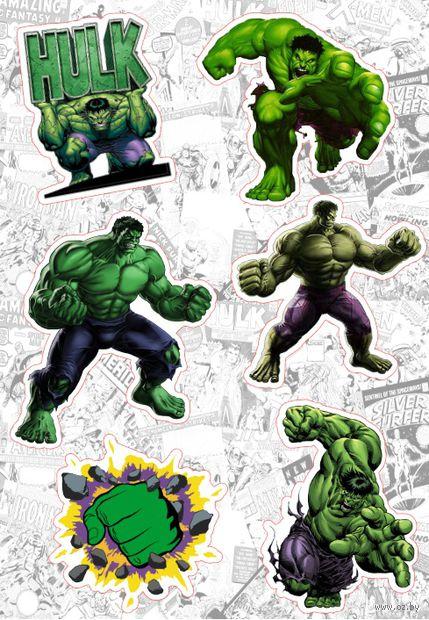 "Набор глянцевых наклеек ""Marvel №21"" — фото, картинка"