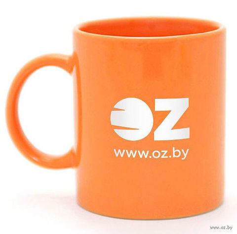 Оранжевая кружка OZ