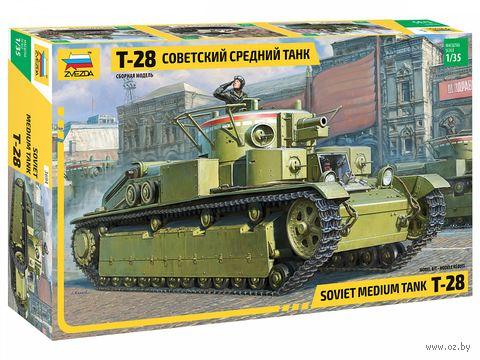 """Сборная модель """"Советский средний танк Т-28"""" (масштаб: 1/35) — фото, картинка"""
