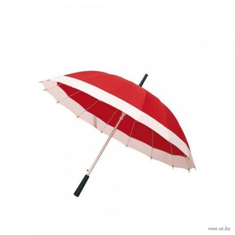 "Зонт ""Geisha"" (красно-белый; диаметр: 103 см)"