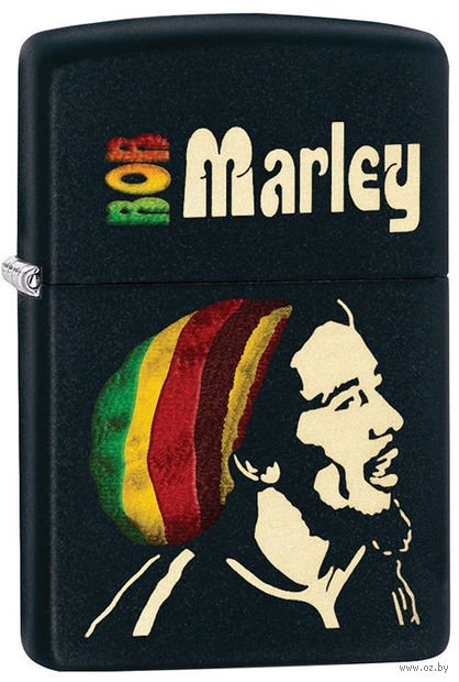 Зажигалка Zippo 28426 Bob Marley — фото, картинка