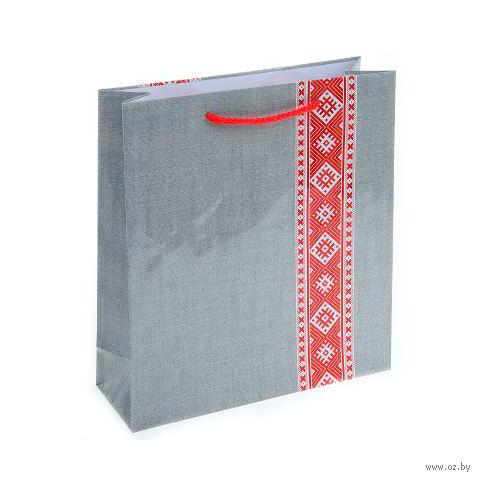 Пакет бумажный подарочный (23х27х8 см; арт. BB101384)