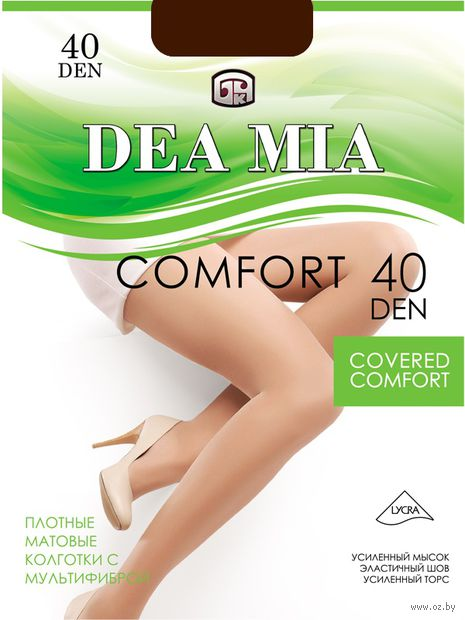 """Колготки женские классические """"Dea Mia. Comfort 40"""""""