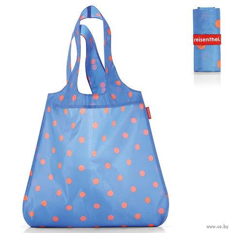 """Сумка складная """"Mini maxi shopper"""" (dots blue)"""