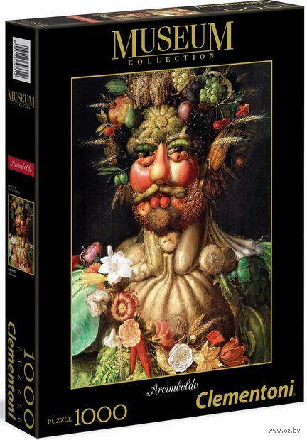 """Пазл """"Арчимбольдо. Портрет императора Рудольфа II в образе Вертумна"""" (1000 элементов) — фото, картинка"""
