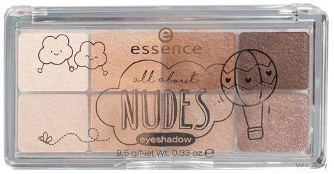 "Палетки теней для век ""All about nudes"" (тон: 02, nudes)"