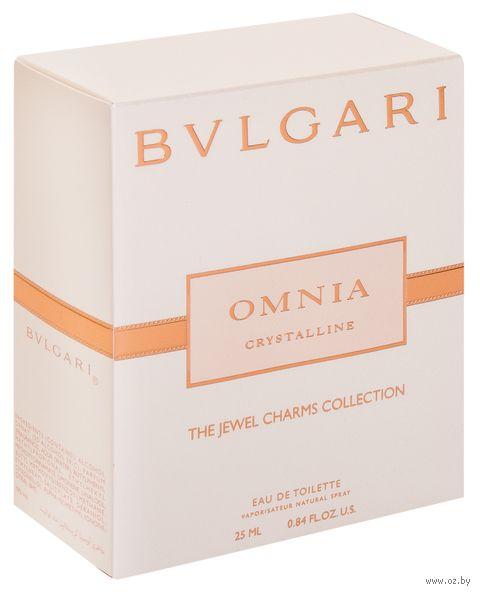 "Туалетная вода для женщин Bvlgari ""Omnia Crystalline"" (25 мл) — фото, картинка"