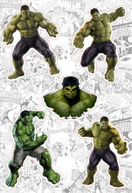 "Набор глянцевых наклеек ""Marvel №22"" — фото, картинка"