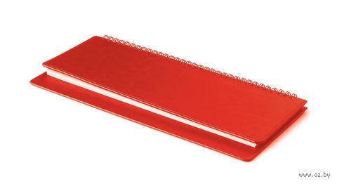 "Планинг недатированный ""Sidney Nebraska"" (305х130 мм; красный) — фото, картинка"