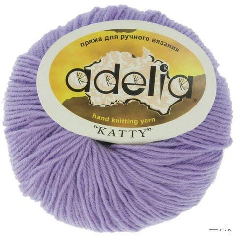 """Пряжа """"Adelia. Katty №15"""" (50 г; 150 м; фиолетовый) — фото, картинка"""