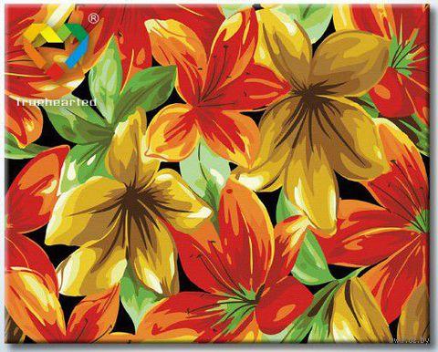 """Картина по номерам """"Цветочное пано"""" (400x500 мм; арт. HB4050001)"""