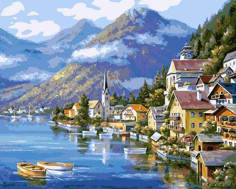 """Картина по номерам """"Хальштадт. Австрия"""" (400х500 мм)"""