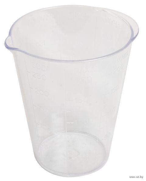 Стакан мерный пластмассовый (прозрачный) — фото, картинка