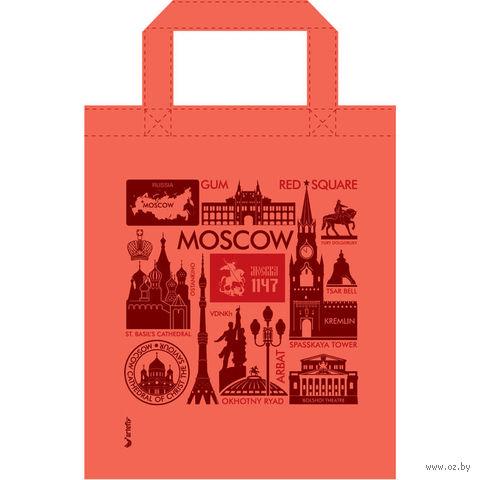 "Сумка ""Москва"" (34x41 см; коралловая) — фото, картинка"