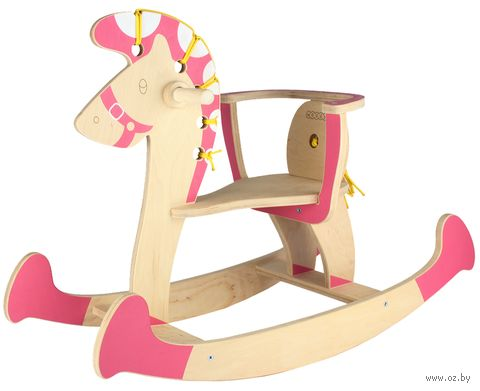 "Качалка ""Лошадка №3"" (розовая) — фото, картинка"