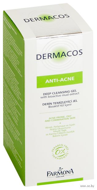 """Гель для умывания """"Dermacos Anti-Acne"""" (150 мл) — фото, картинка"""