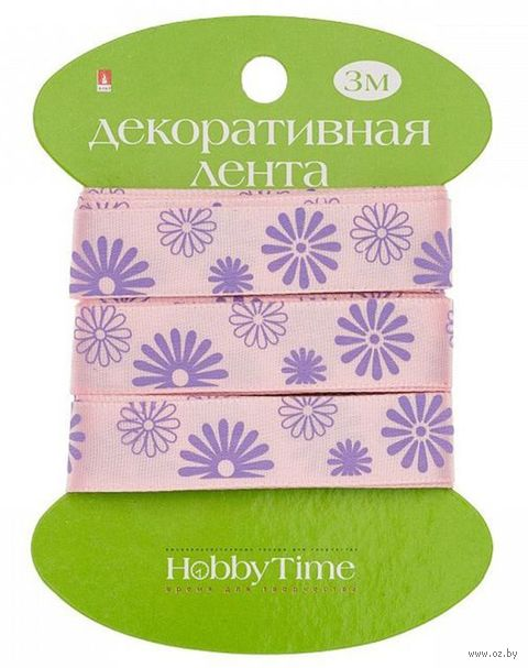 "Лента декоративная ""Цветы"" — фото, картинка"