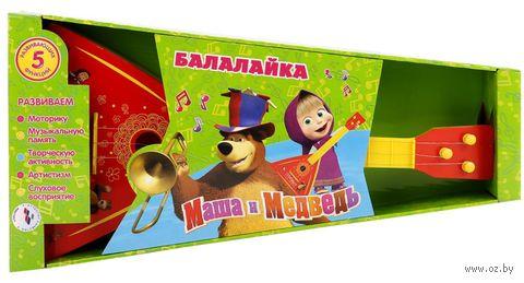 "Балалайка ""Маша и Медведь"" — фото, картинка"