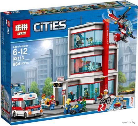 """Конструктор Cities """"Городская больница"""" — фото, картинка"""