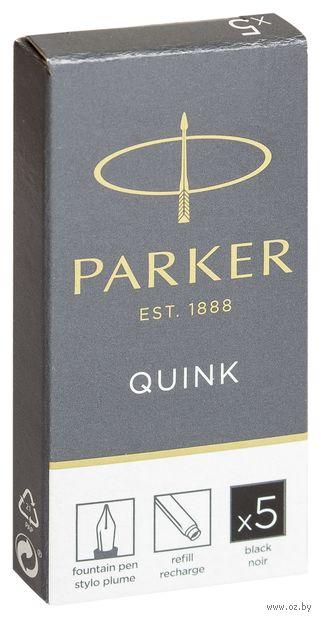 Набор чернильных картриджей Parker (цвет чернил - черный, 5 штук)
