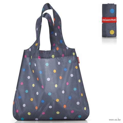"Сумка складная ""Mini maxi shopper"" (dots grey)"