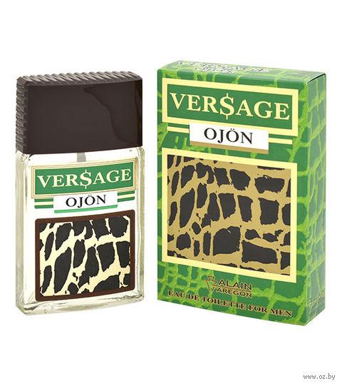 """Туалетная вода для мужчин """"Versage Ojon"""" (100 мл) — фото, картинка"""
