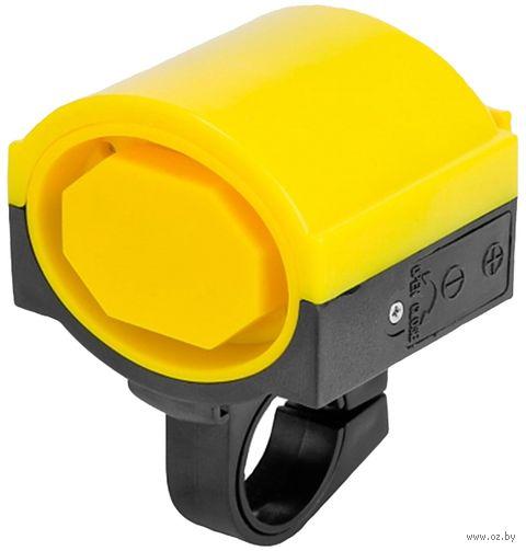 """Звонок для велосипеда электрический """"DZ"""" (чёрно-жёлтый) — фото, картинка"""