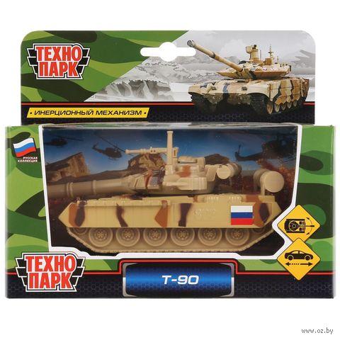 """Модель машины """"Tанк T-90"""" — фото, картинка"""