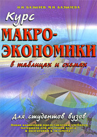 Курс макроэкономики в таблицах и схемах. Н. Базылев, Марина Базылева