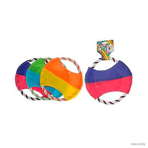 """Игрушка для собаки текстильная """"Фрисби"""" (21 см) — фото, картинка"""