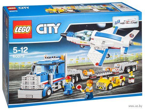 """LEGO City """"Транспортер для учебных самолетов"""""""